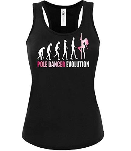 Pole Dance Evolution 2023 Frauen Damen Mädchen Fun Tank Top Tanz Sport Bekleidung Shorts Stange Grip Hose Fitness Street wear Fan Artikel t Shirt M