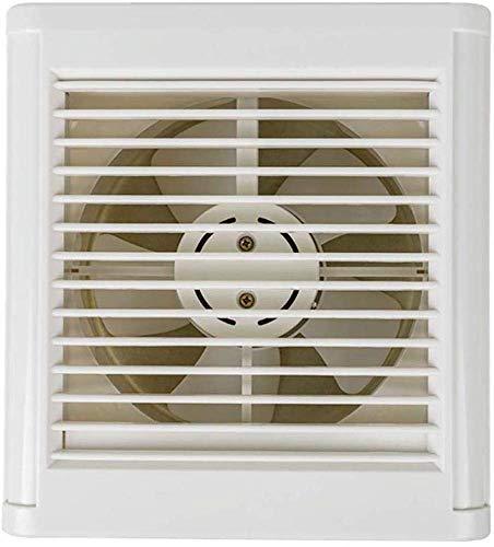 Extractor De Baño, Ventilador de extractor de baño, ventilador de extractor de cocina 8 pulgadas Baño de pared Lumbrera de la ventana