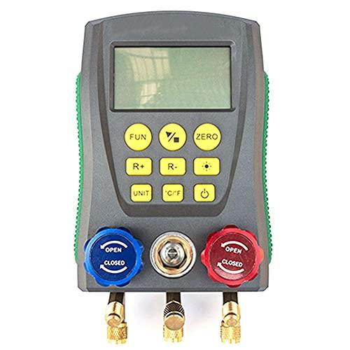 Digital manometro digitale di refrigerazione manometro aria condizionata strumenti digitali manometro attrezzo stabilita di riparazione auto digitale aria condizionata Repair Tool