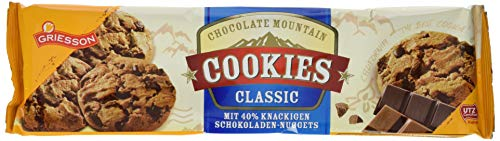 Griesson Chocolate Mountain Cookies Classic, 14er Pack (14 x 150 g)