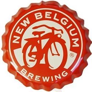 Gift for Groom Father Birthday Anniversary Boyfriend Wedding Holiday Cuff Links New Belgium Fat Tire Bicycle Beer Bottle Cap Cufflinks