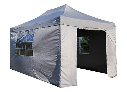 All Seasons Gazebos Heavy Duty, 100% waterproof, 3x4.5m Pop up Gazebo with 4 x fully waterproof Superior Side Walls. 17 Colours ava