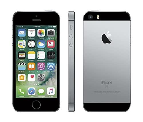 Apple iPhone SE, 16GB, 1st Gen 2016 Factory Unlocked - Space Gray - GSM, ATT Tmobile Metro Cricket