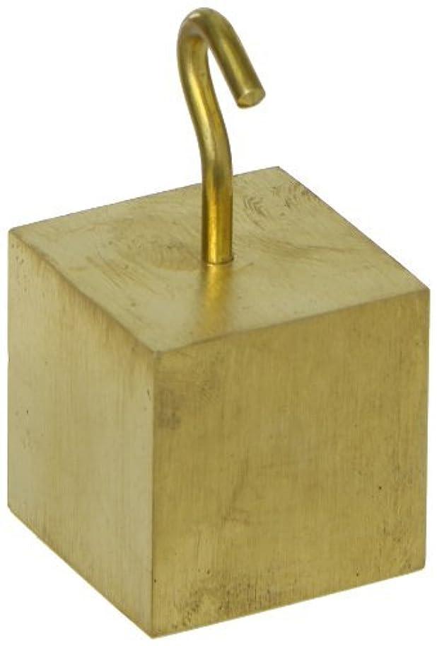 ディスク幻滅それるAjax Scientific Brass Hooked Cube 32mm [並行輸入品]