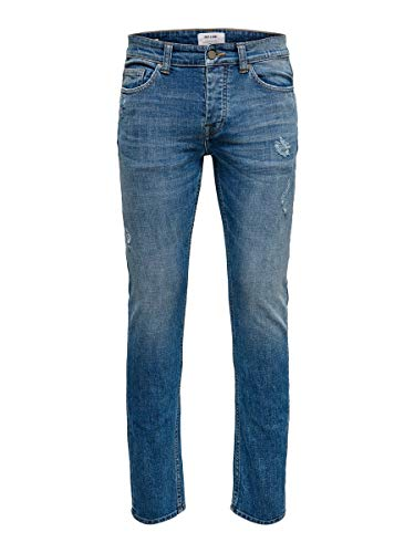 Only & Sons NOS Onsloom L Dcc 3396 Noos Vaqueros Slim, Azul (Blue Denim Blue Denim), W31/L32 (Talla del Fabricante: 31) para Hombre