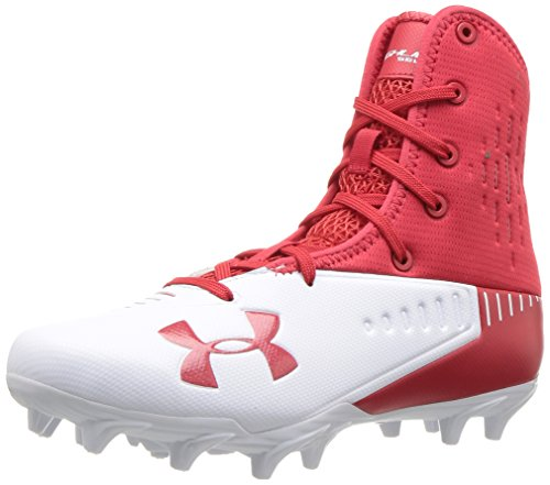 Under Armour Hombres Highlight Select Mc Low & Mid Tops Schnuersenkel Laufschuhe Rot Groesse 10 US /44 EU