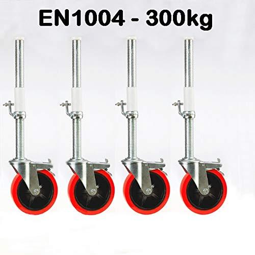 Gerüstrolle 200 mm - 300 kg Pro Rad