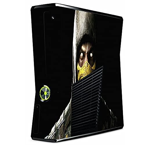 VINILOL Vinilo Mortal Kombat v2 para Xbox 360 Slim pegatina cubierta skin para consola