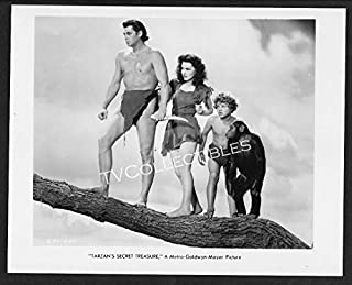 Photo~ Tarzan Movies ~Johnny Weissmuller ~Johnny Sheffield~Maureen O'sullivan~CS