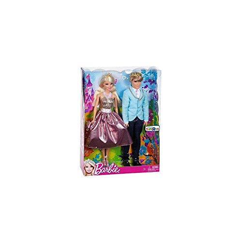 Barbie Prince and Princess Gift Set (Colors/Styles Vary)