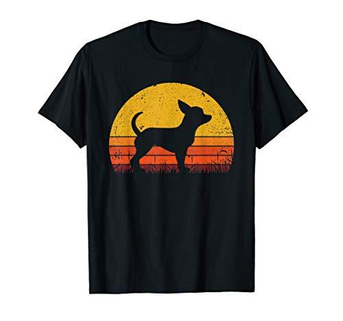 Retro Chihuahua Shirt Dog Mom Dog Dad Gift Vintage Chihuahua T-Shirt