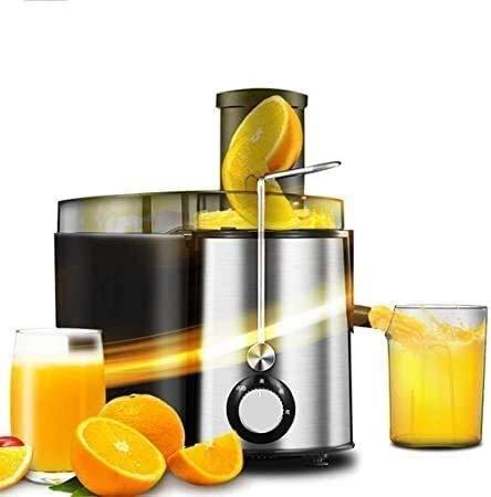 Kaper Go Procesador de alimentos Ecuador de masticación, exprimidor de prensa en frío, jugo para frutas y verduras, motor silencioso y duradero, función totalmente automática, incluido el filtro, expr