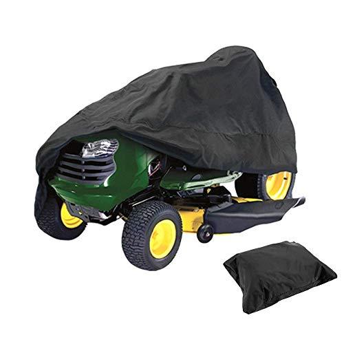 ELR cubierta protectora impermeable para cortacésped de paseo, protección UV, cubierta para cortacésped, para tractores de jardín (66 x 61 x 114 cm)