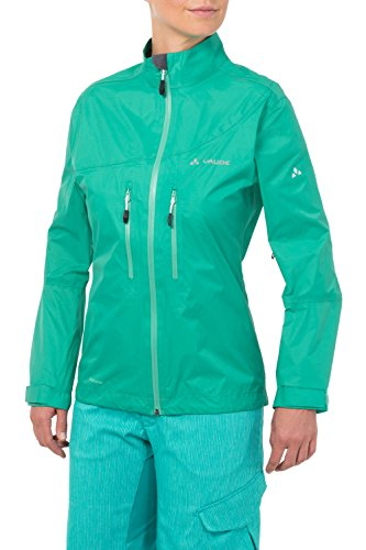 VAUDE Damen Jacke Tremal Zip Off Rain Jacket, Atlantis, 38, 05475
