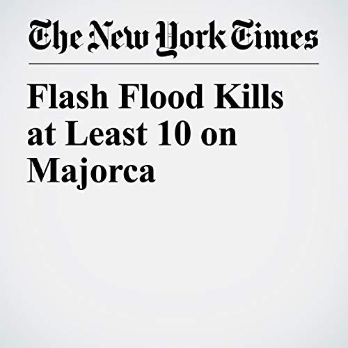Flash Flood Kills at Least 10 on Majorca copertina