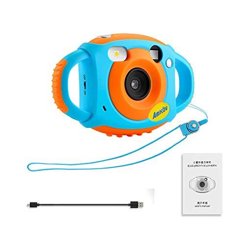 LZLWL AMKOV HD Digitalkamera für Kinder-5 Megapixel Selbstauslösespiegel für Kinderkameras Design 1,77 Zoll Bildschirm HD Video-Action-Camcorder-Doppelgreifer-Ergonomie für bequemen Griff
