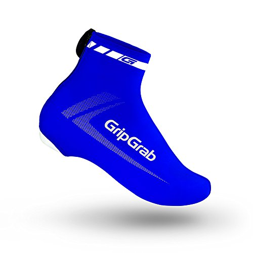 GripGrab RaceAero Road Bike Summer Aero Overshoes - Lightweight Lycra Cycling Shoe-Covers for Time Trial and Road Racing