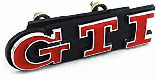 Red GTI Front Grill Emblem Badge decal For VW Polo Golf Jetta MK 4 5 6 7 Beetle