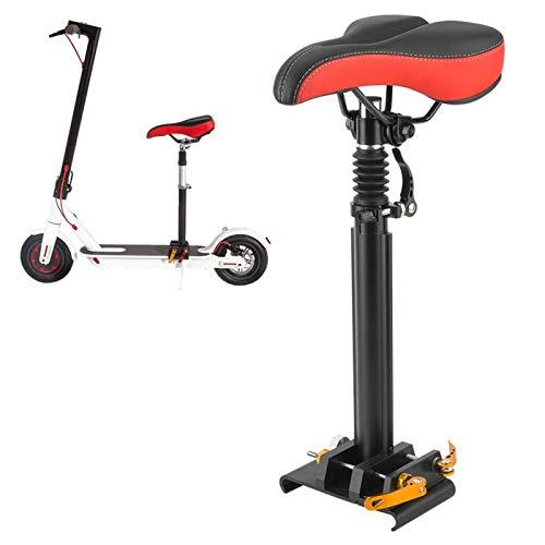 Sillín de monopatín eléctrico, sillín de Asiento Ajustable para patinetes ES1/ES2/ES4, sillín...