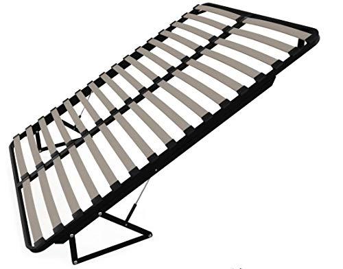 123home24.de lattenbodem en bedkast 90 x 200 lattenbodem met bedlade functie berkenhout verende houten frame metalen lattenbodem
