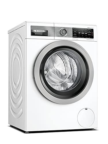 Bosch WAV28G43 HomeProfessional Waschmaschine Frontlader/A / 48 kWh/100 Waschzyklen / 1400 UpM / 9 kg/Weiß / 4D Wash System/Fleckenautomatik Plus/Allergie Plus/Home Connect