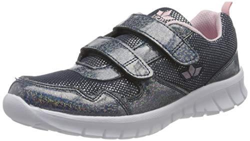 Lico Jolly V Sneaker Mädchen, Silber/Rosa, 32 EU
