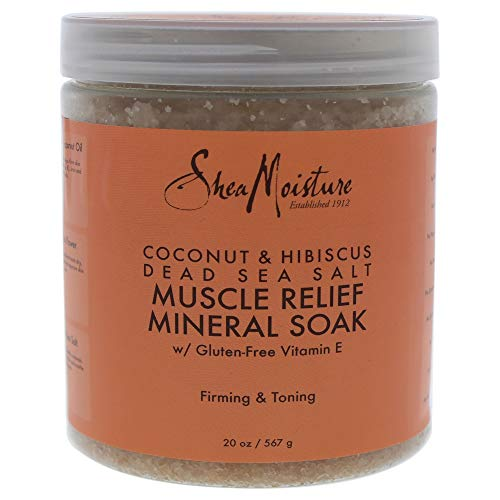 SheaMoisture Coconut & Hibiscus Dead Sea Salt Muscle Relief Mineral Soak -...