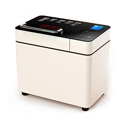 Tostadora, máquina de desayuno automática, apagado, memoria, cita programada, máquina de pan, silencio, 28 tipos de menú de nutrición, electrodomésticos de cocina, blanquecino