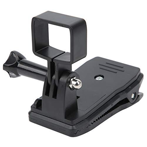 Teror Rotazione della Clip dello Zaino, Staffa di Montaggio della Base Fissa di espansione della Clip dello Zaino di Rotazione Adatta per Fotocamera DJI OSMO Pocket 1/2