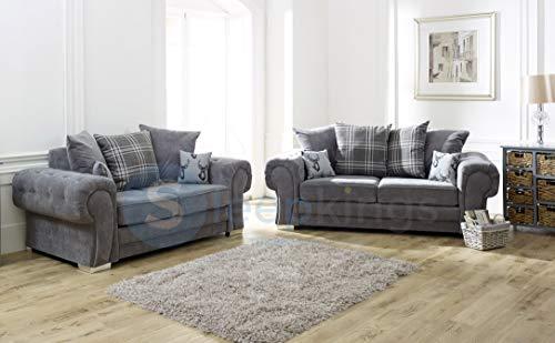 sleepkings Verona Fabric 3+2 Sofa Set