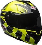 Bell SRT Modular Full-Face Helmet Gloss Hi-Viz Green/Black Medium