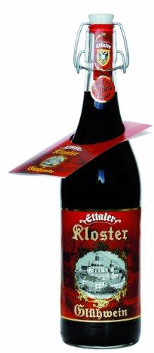 Original Ettaler-Kloster-Glühwein 0,75 l - 6er Pack (6 x 750 ml - 6 Flaschen)