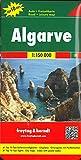 Algarve, Autokarte 1:150.000, Top 10 Tips: Road Map (freytag & berndt Auto + Freizeitkarten)