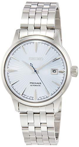 [セイコーウォッチ] 腕時計 プレザージュ PRESAGE(プレザージュ) メカニカル 自動巻(手巻つき) カクテル(スカイダイビング) イメージ シースルーバック SARY161 メンズ シルバー