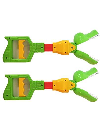 13' Alligator Toy Grabber Claw   Gator Grabbing Tool   Fun Kids Gator Activity Game   2 Pack Extended Grabber Reacher Tool   Pickup Tool