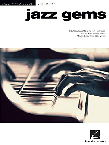 Jazz Gems: Jazz Piano Solos Series Volume 13 (English Edition)