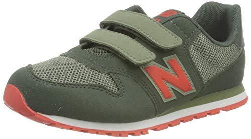 New Balance 500, Zapatillas Niños, Verde (Black Spruce), 31 EU