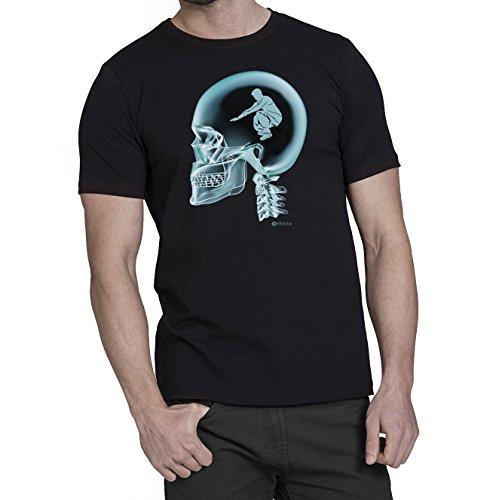 Parkour En El Cerebro X-Ray Camiseta para hombre T-Shirt