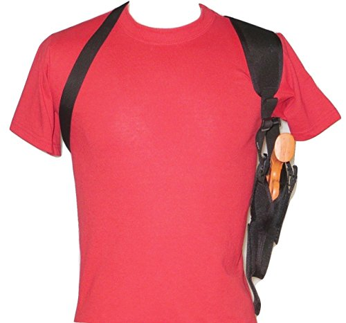 Federal Vertical Shoulder Holster for 4' Revolver in 38 & 357 fits S&W, Ruger,Taurus Most Others