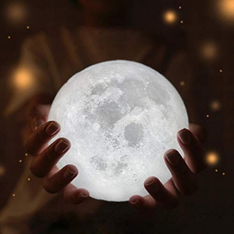 Hauptmond-Lampe 3D Usb führte Mond-Nachtlicht-Mondschein-Tabellen-Schreibtisch-Mond-Lampen-Geschenk-Festival geführtes Licht 18Cmplug in der Wand