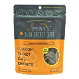 Jiminy's Cricket Protein Dog Treats, 5-6 Ounce Bag (Pumpkin, Carrot and Cricket) …
