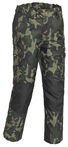 Pinewood Pantalon de Laponie Camou Kids pour Enfant 16 Ans dschungel/Schwarz
