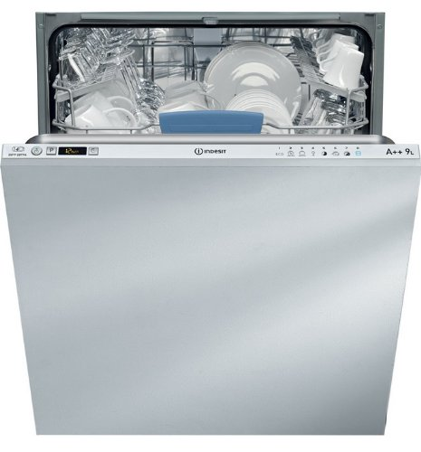 Indesit DIFP 28T9 A - Lavavajillas (Totalmente integrado, Acero inoxidable, Botones, 42 Db, A, 70 °C)