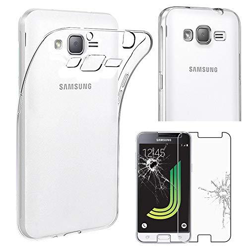 ebestStar - Funda Compatible con Samsung J3 2016 Galaxy SM-J320F Carcasa Silicona,...