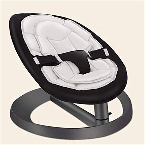 CHHD Infant Bouncers & Rockers Multifunktionsautomatische Baby Swing Bouncer Stühle Bequeme zusammenklappbare Baby Rocker Schaukelliege Schlafwiege, d