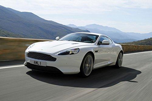 1-HO5BE1 Aston Martin Virage 52cm x 35cm,21inch x 14inch Silk Print Poster