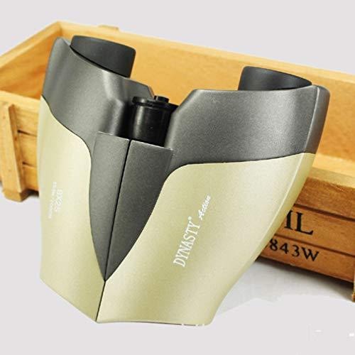 PIGE Télescope pour Enfants Jumelles 8-10 Fois Opération Forme Simple et sûre Corps en métal Mignon Protection de l'environnement Emballage Cadeaux pour Enfants (Taille : C8×25)