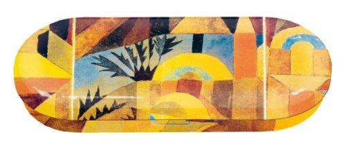 Fridolin brillenkoker Paul Klee-Der Tempeltuin van metaal, meerkleurig, 16 x 6,6 x 2,8 cm