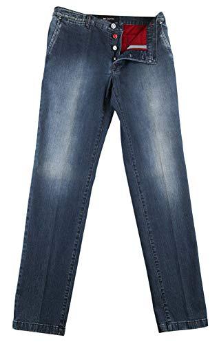 Kiton New Denim Blue Jeans - Slim - 33/49