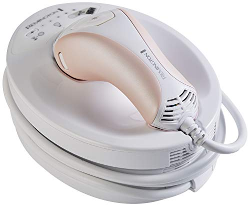 Remington Epilateur Lumière Pulsée 300000 Flashs, Epilation Définitive Corps Visage Maillot - Rose IPL6750 I-Light